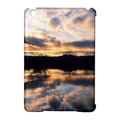 SUN REFLECTED ON LAKE Apple iPad Mini Hardshell Case (Compatible with Smart Cover)