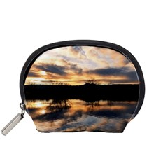 SUN REFLECTED ON LAKE Accessory Pouches (Small)