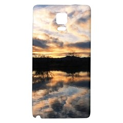SUN REFLECTED ON LAKE Galaxy Note 4 Back Case