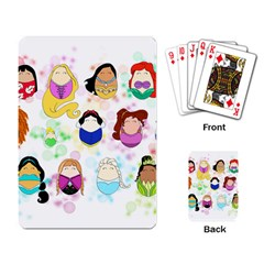 Disney Ladies Playing Card
