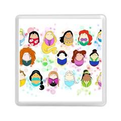 Disney Ladies Memory Card Reader (Square)