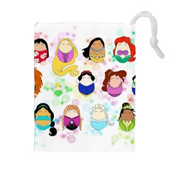 Disney Ladies Drawstring Pouches (Extra Large)