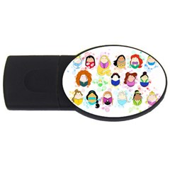 Disney Ladies USB Flash Drive Oval (4 GB)