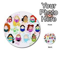 Disney Ladies Multi Purpose Cards (round)