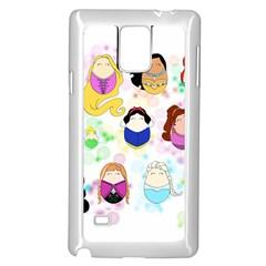 Disney Ladies Samsung Galaxy Note 4 Case (White)