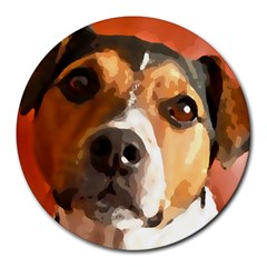 Jack Russell Terrier Round Mousepads