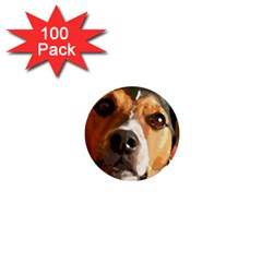 Jack Russell Terrier 1  Mini Buttons (100 pack)