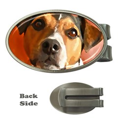 Jack Russell Terrier Money Clips (Oval)
