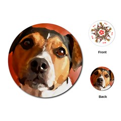Jack Russell Terrier Playing Cards (Round)