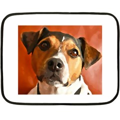 Jack Russell Terrier Fleece Blanket (Mini)