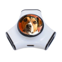 Jack Russell Terrier 3-Port USB Hub