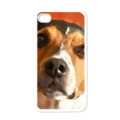 Jack Russell Terrier Apple iPhone 4 Case (White)