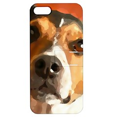 Jack Russell Terrier Apple iPhone 5 Hardshell Case with Stand