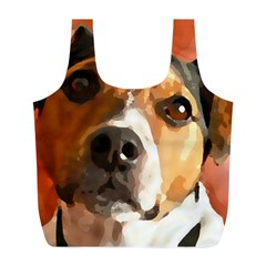 Jack Russell Terrier Full Print Recycle Bags (L)