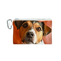Jack Russell Terrier Canvas Cosmetic Bag (S)
