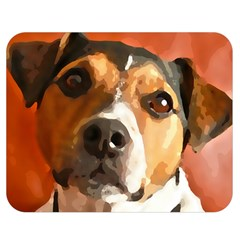 Jack Russell Terrier Double Sided Flano Blanket (Medium)