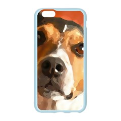 Jack Russell Terrier Apple Seamless iPhone 6/6S Case (Color)