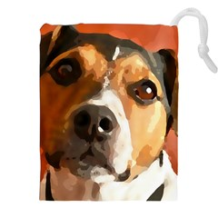 Jack Russell Terrier Drawstring Pouches (XXL)