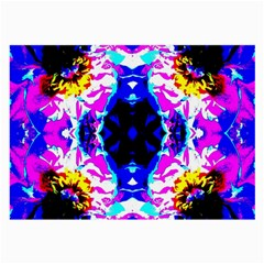 Animal Design Abstract Blue, Pink, Black Large Glasses Cloth (2-Side)