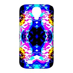 Animal Design Abstract Blue, Pink, Black Samsung Galaxy S4 Classic Hardshell Case (PC+Silicone)