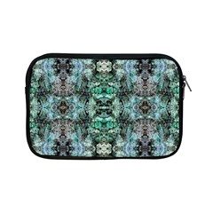 Green Black Gothic Pattern Apple iPad Mini Zipper Cases
