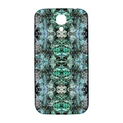 Green Black Gothic Pattern Samsung Galaxy S4 I9500/I9505  Hardshell Back Case