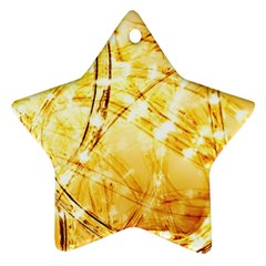 Light Speed Star Ornament (Two Sides)