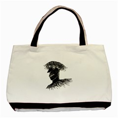 Cool Young Long Hair Man With Glasses Basic Tote Bag (Two Sides)