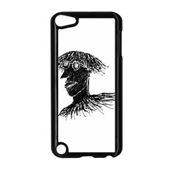 Cool Young Long Hair Man With Glasses Apple iPod Touch 5 Case (Black)