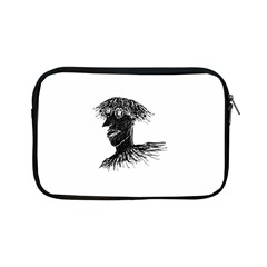 Cool Young Long Hair Man With Glasses Apple iPad Mini Zipper Cases