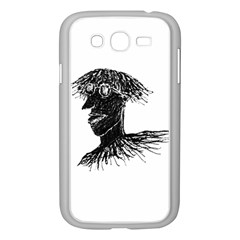 Cool Young Long Hair Man With Glasses Samsung Galaxy Grand DUOS I9082 Case (White)