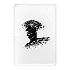 Cool Young Long Hair Man With Glasses Samsung Galaxy Tab Pro 12 2 Hardshell Case