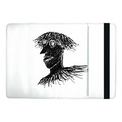 Cool Young Long Hair Man With Glasses Samsung Galaxy Tab Pro 10.1  Flip Case