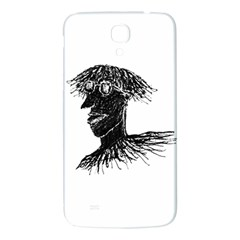 Cool Young Long Hair Man With Glasses Samsung Galaxy Mega I9200 Hardshell Back Case