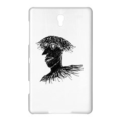 Cool Young Long Hair Man With Glasses Samsung Galaxy Tab S (8.4 ) Hardshell Case