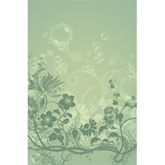 Wonderful Flowers In Soft Green Colors 5.5  x 8.5  Notebooks