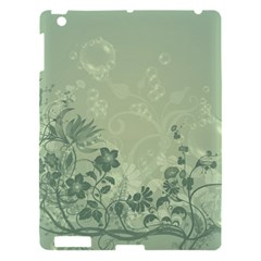 Wonderful Flowers In Soft Green Colors Apple iPad 3/4 Hardshell Case