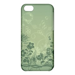 Wonderful Flowers In Soft Green Colors Apple iPhone 5C Hardshell Case