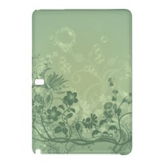 Wonderful Flowers In Soft Green Colors Samsung Galaxy Tab Pro 10 1 Hardshell Case