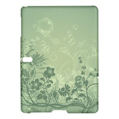 Wonderful Flowers In Soft Green Colors Samsung Galaxy Tab S (10.5 ) Hardshell Case