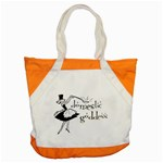 Domestic Goddess Accent Tote Bag  Front