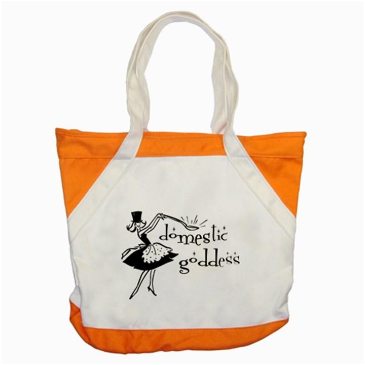 Domestic Goddess Accent Tote Bag