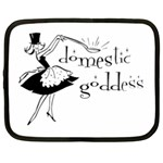 Domestic Goddess Netbook Case (Large) Front