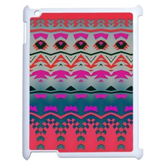Waves and other shapesApple iPad 2 Case (White)