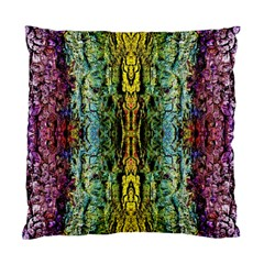 Abstract, Yellow Green, Purple, Tree Trunk Standard Cushion Cases (Two Sides)
