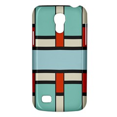 Vertical and horizontal rectanglesSamsung Galaxy S4 Mini (GT-I9190) Hardshell Case