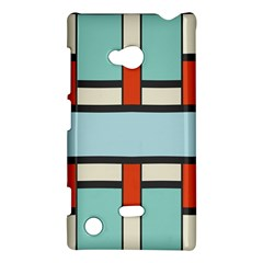 Vertical and horizontal rectangles			Nokia Lumia 720 Hardshell Case