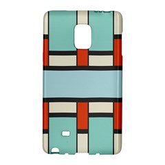 Vertical and horizontal rectanglesSamsung Galaxy Note Edge Hardshell Case