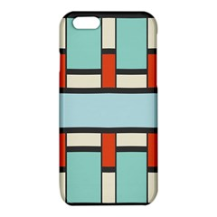 Vertical and horizontal rectangles			iPhone 6/6S TPU Case