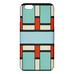 Vertical And Horizontal Rectangles			iphone 6 Plus/6s Plus Tpu Case